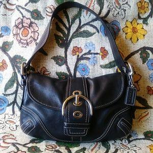 Coach Mini Leather Shoulder Bag #H0679-F10188